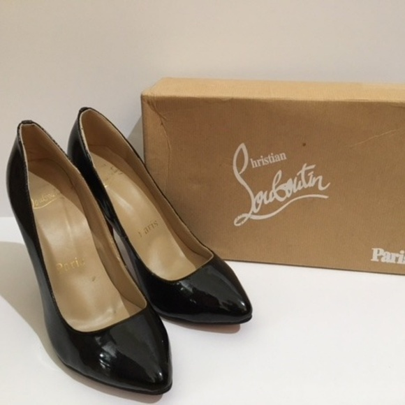 quality design be48e 22ae2 Pigalle 100 mm Christian Louboutin black patent